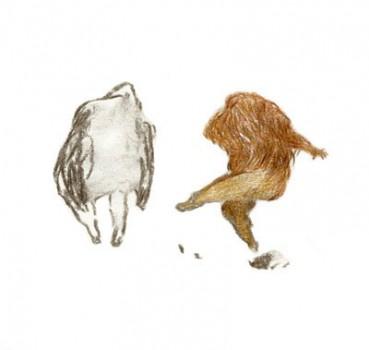 Dessins génération spontanée – 30 x 30 cm