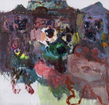 Grandes toiles (environ 1m40 x 1m40) – 2020/21